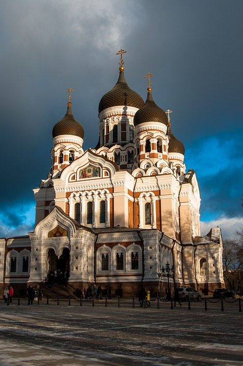 St. Alexander Nevsky Cathedral;an orthodox church