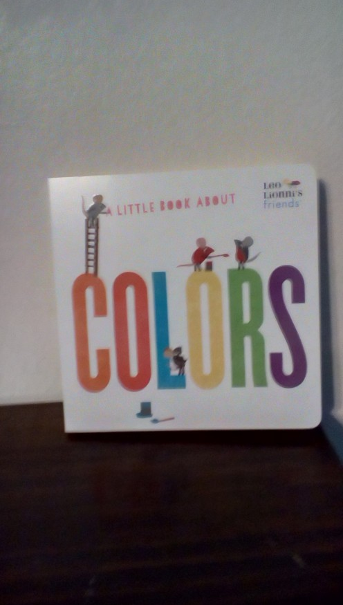 Get a head start on learning colors