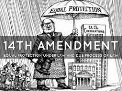 A focus on the 14th Amendment and its Role in enhancing equality in the U.S.A