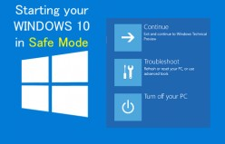 How to get to Windows 10 Safe Mode