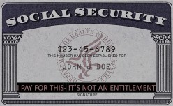 Federal Entitlements, Social Security Should Not Be One of Them