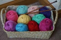 Decorative Knit 5 Heart Dishcloth Pattern