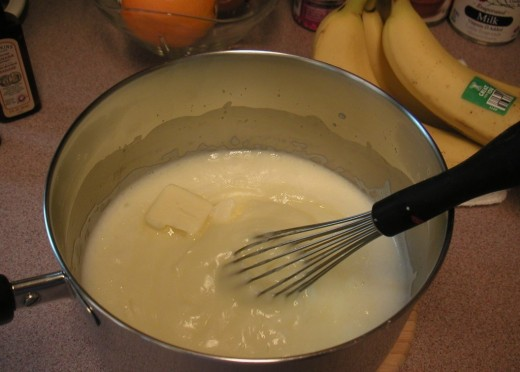 Add the butter