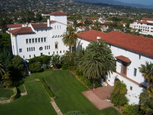 Santa Barbara County Courthouse-the ultimate example of Spanish colonial revival