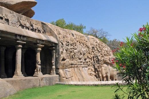 Arjuna Penance, Mahabalipuram