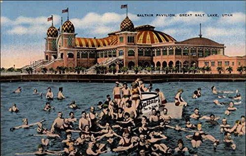 Saltair Pavilion, Salt Lake City from a vintage postcard