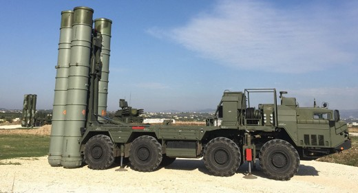 S 400 system being imported from Russia
