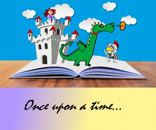 """""""Once upon a time"""" still sets a certain tone, old fashioned as it is..."""