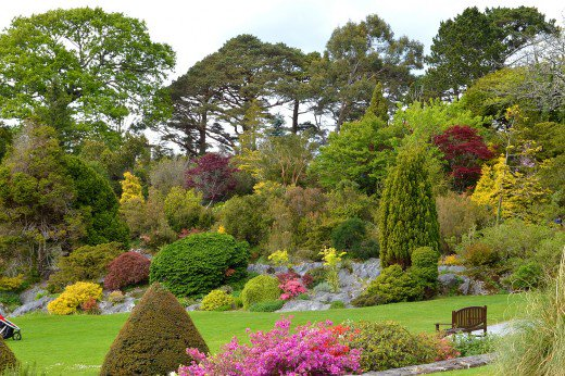 Muckross Gardens add visual appeal to this first major stop on the ring.