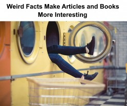 How Weird Facts Help Writers' Write and Gets Rid of Writer's Block