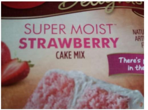 Just a plain, ordinary cake mix