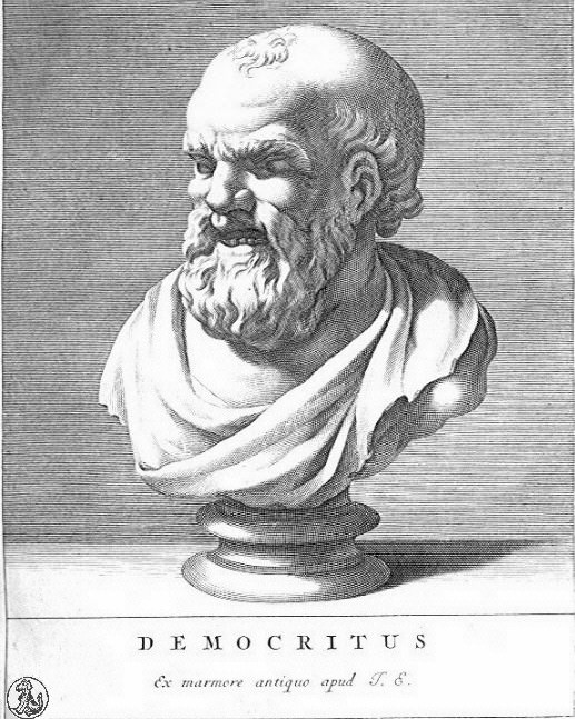 Democritus, pupil of Leucippe and another early contributor to atomic theory