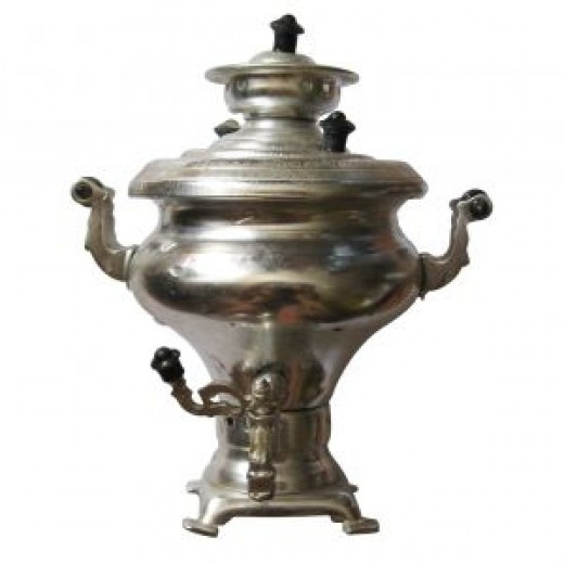 A samovar for tea to accompany these great recipes.