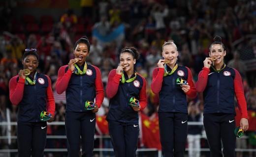 Rio-Olympics Women Gymnastic Winners
