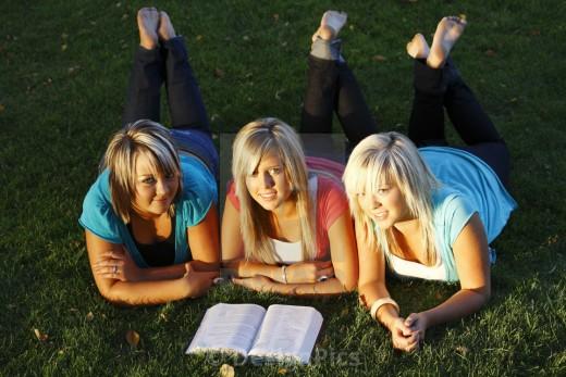Ladies Reading Bible