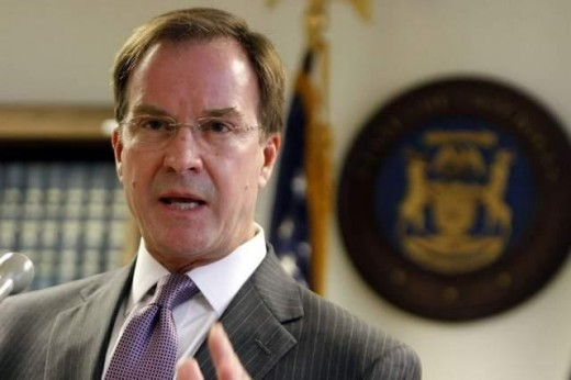 Ex-Attorney General Bill Schuette--defeated candidate for governor in 2018