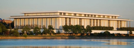 Kennedy Center for the Performing Arts, Washington, D.C.--another national venue with everything under one roof