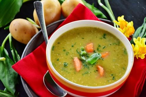 Nutrition on a Dime Recipe Collection: Split Pea and Potato Soup Recipe