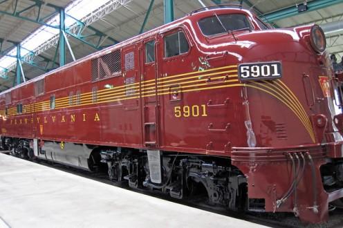 Pennsylvania Railroad # 5901 diesel locomotive (E7A) 1