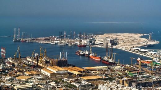 Dubai Maritime City, Dubai, UAE.