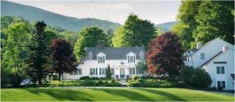 The Hermitage Inn in West Dover, Vermont.