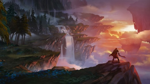 The Shattered Isles of Dauntless.