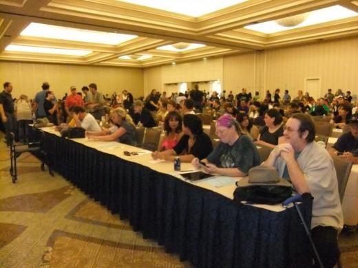 The San Dieog Committee meetings are very informal. I