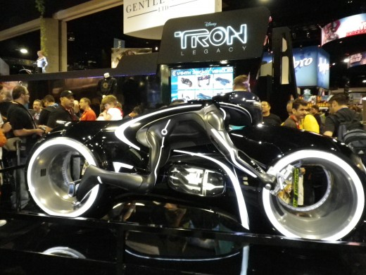 From bat-cars to every super-hero mode of transport, at one point or another, they've been to 'the con.'