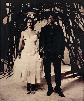 Partners: Helena Bonham-Carter and Tim Burton