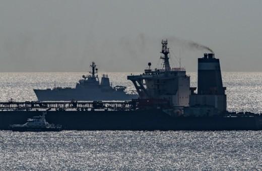 Oil tanker, Grace 1.
