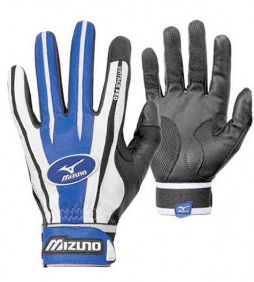 The Mizuno Vintage Pro F2 Baseball Batting Gloves