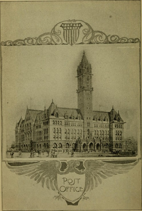 Post Office, Buffalo, NY.  Source: Official catalogue and guide book to the Pan-American exposition, 1901