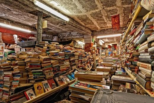The Libreria Acqua Alta Venice