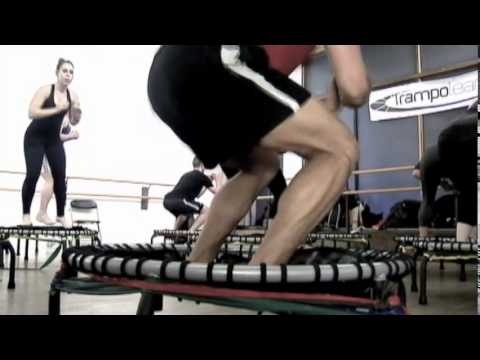 HIIT can also be done with mini trampolines.
