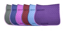 Saddle pads come in every possible color.