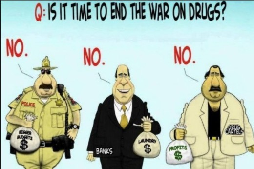 Drugs are profitable business enterprise for some.  And as long as there is a demand, there will be drugs.