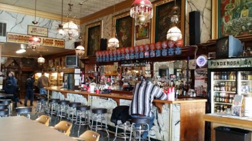 Ponderosa bar area