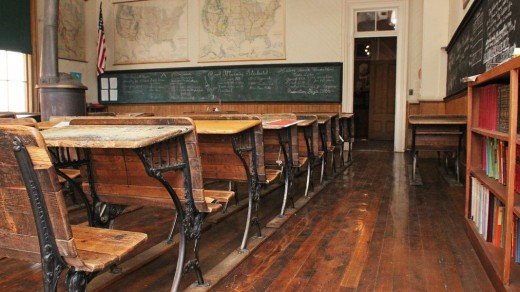19th century schoolroom