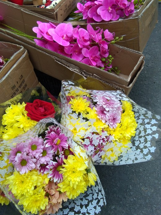 Lovely flowers on a sunday