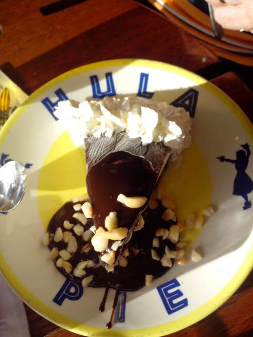 Hula Pie at Duke's