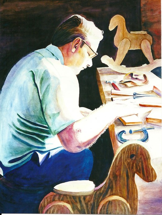 """My Dad in """"Labor of Love"""""""