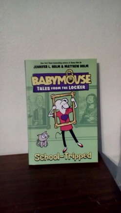 BabyMouse Takes Her First School Trip Without a Chaperone in New Book From Beloved Authors Jennifer and Matthew Holm