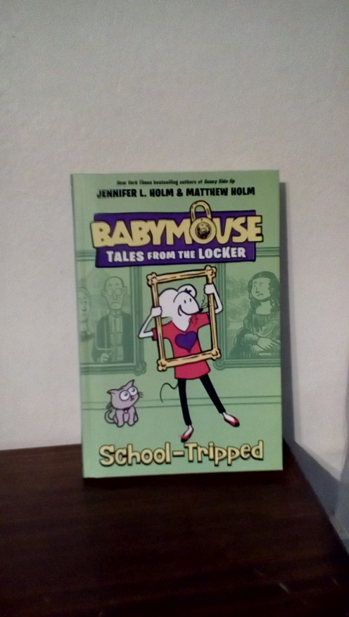 New adventures with beloved character BabyMouse.  Could your middle schooler do without their smartphone?