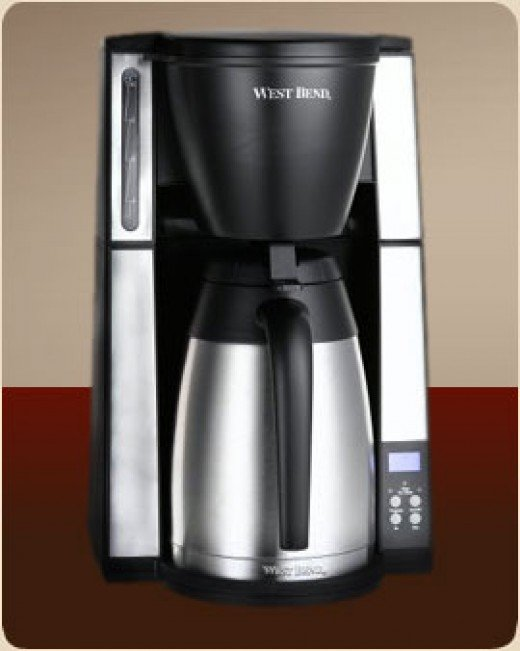 A Coffee Maker With Thermal Carafe