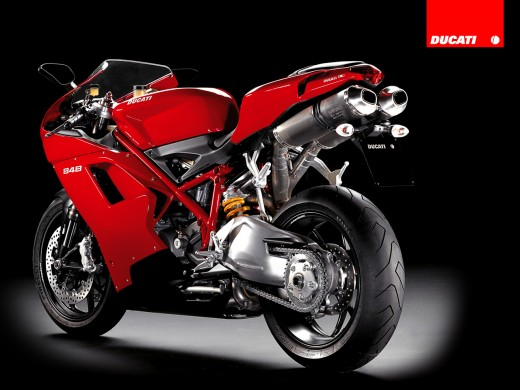Styling is the usual spectacularly sexy Ducati and the 848 is available in