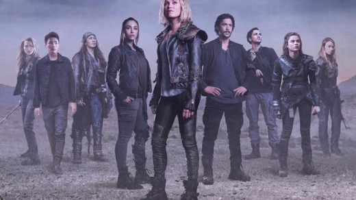 The 100 Cast Poster