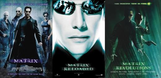 MatriX Trilogy Posters