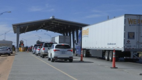Checkpoints, stop illegal immigrants and drugs from coming into the United States.