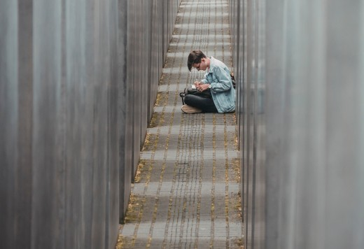 There is a memorial to the victims of the Holocaust in Berlin, Germany.