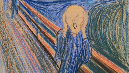 In February 1994, Edvard Munch's The Scream, Norway's most famous painting, was stolen from a museum in Oslo. It was recovered the following May.